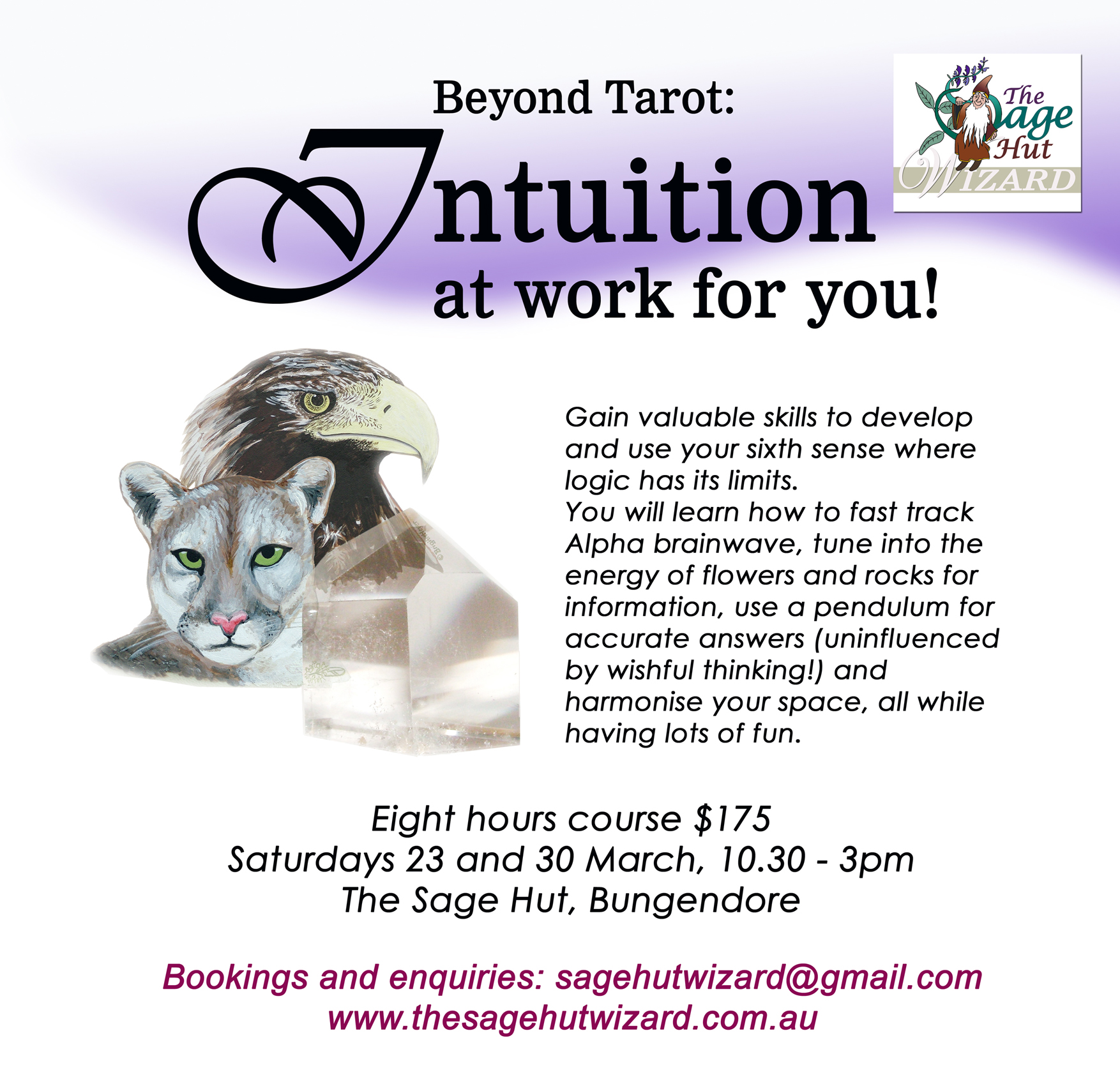 Intuition Class Bungendore A4