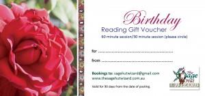 Webpage BDay voucher rose prototype